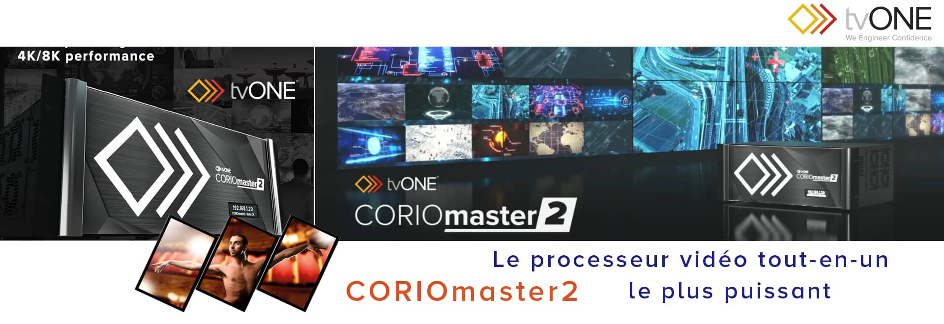 Processeur tvONE CORIOmaster2