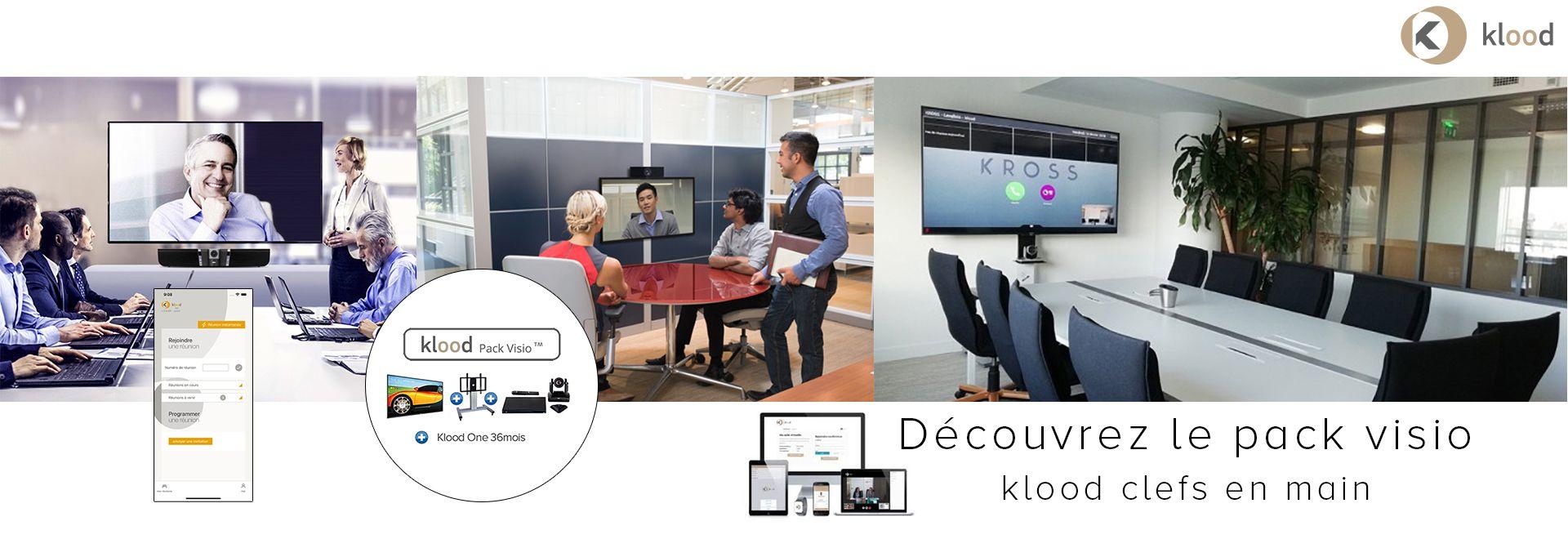 Découvrez le pack visio klood clefs en main incluant matériel et infrastructure cloud