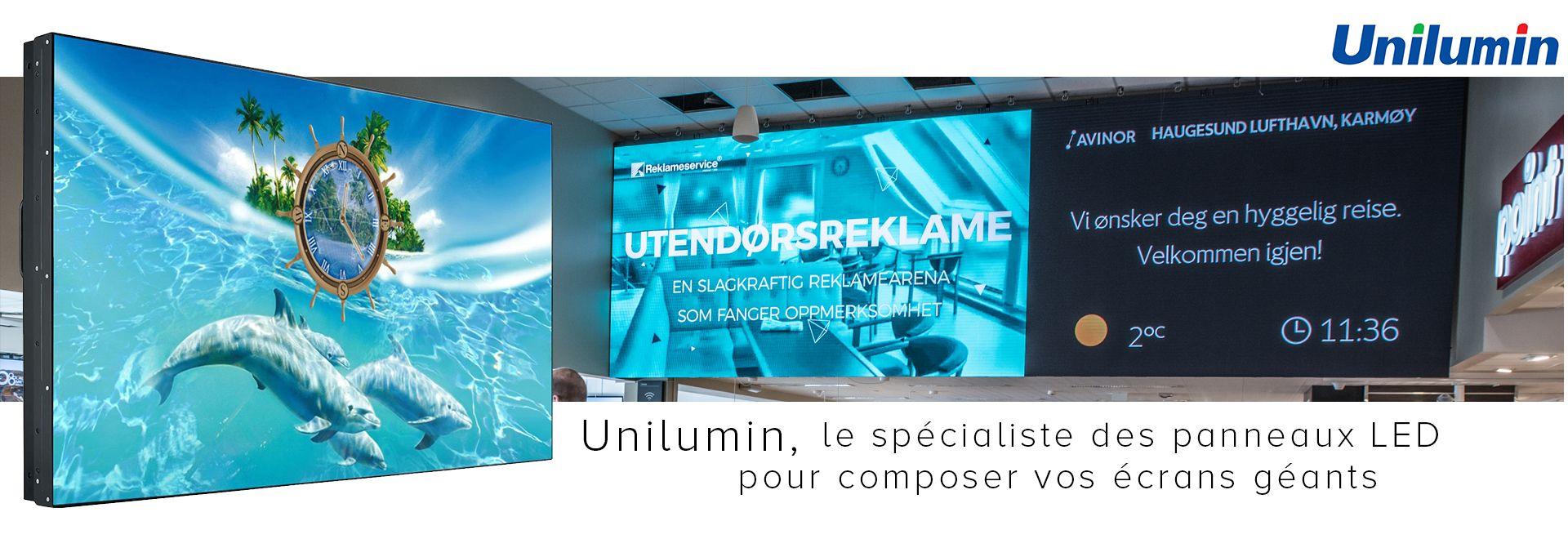 Unilumin, le spécialiste des panneaux LED