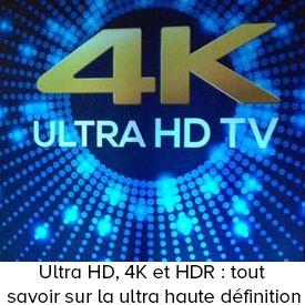 Ultra HD, 4K et HDR : tout savoir sur la ultra haute définition