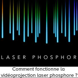 Comment fonctionne la vidéoprojection laser phosphore ?