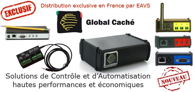 Solutions de contrôle et d'automatisation Global Caché
