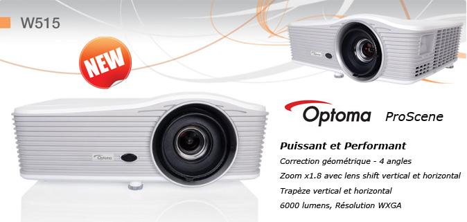 Optoma W515