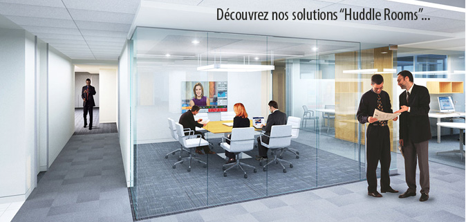Solutions Huddle rooms