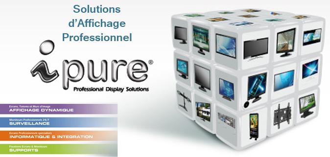 Solutions d'affichage professionnel Ipure