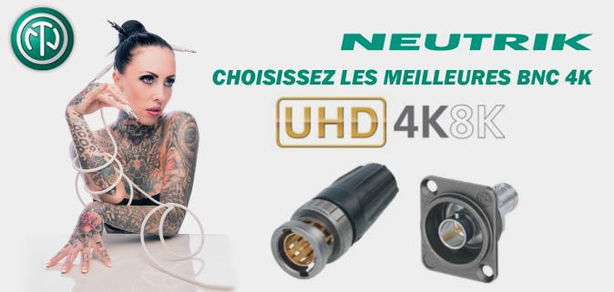BNC 4K Neutrik