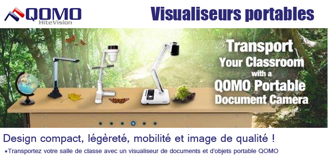 Visualiseurs QOMO